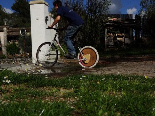 Eccentric-hub Scooter / Bike (no Pedals)