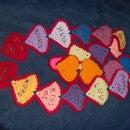 Valentines conversation scarf