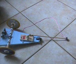 Foam Mouse Trap Car