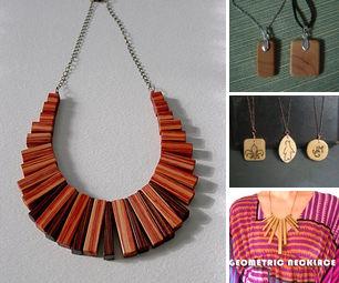 Wood Jewelery