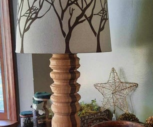 The D.I.Y Wooden Lamp