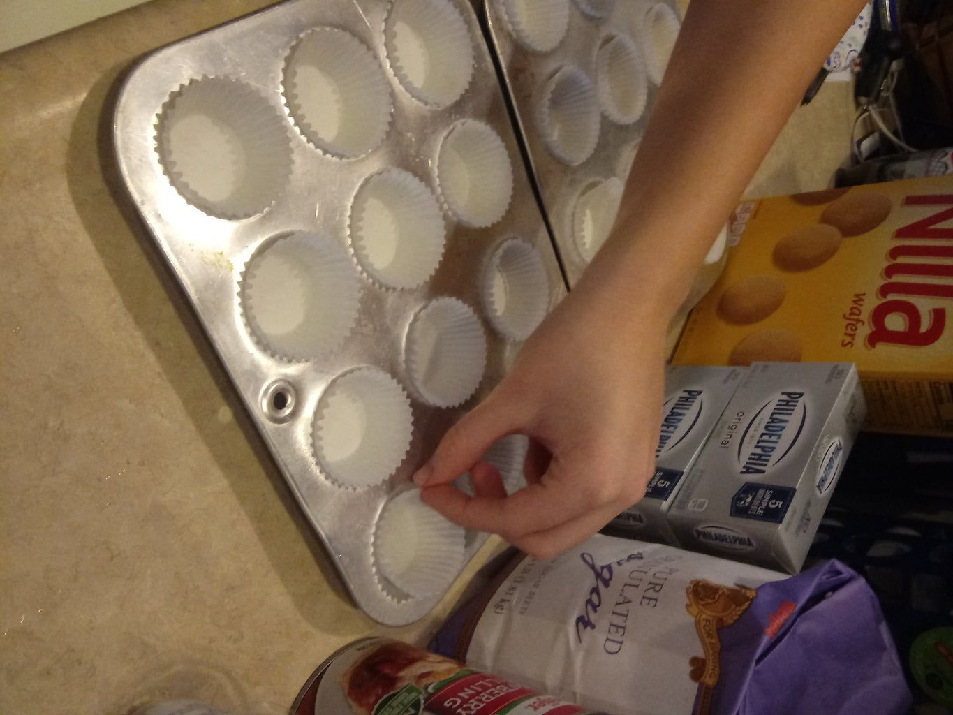 Line Your Muffin Tin