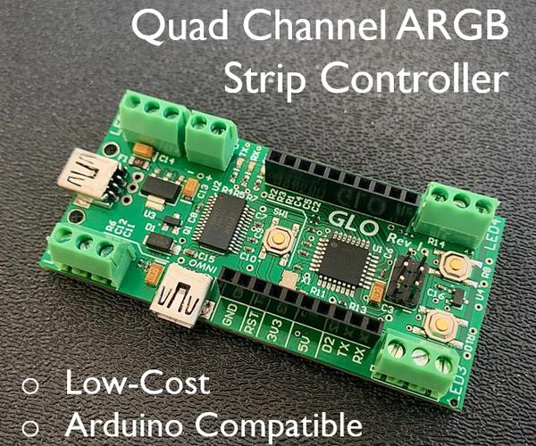 Glo: a Hackable, Arduino-Based RGB Strip/Neopixel Controller