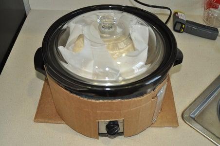 Alt. Method: Crock Pot Double Boiler