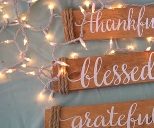 How to Make Wood Signs With Cricut Explore- Craft Tutorial
