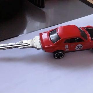 Hot Wheels Car Key