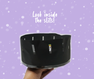 Ten Snowmen Leaping (zoetrope Powered by Micro:bit)
