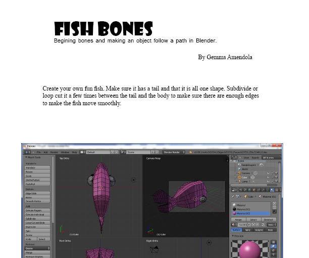 Fish Bones Animation