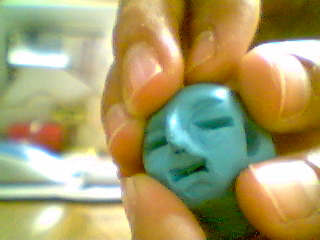 How to make a head out of clay.