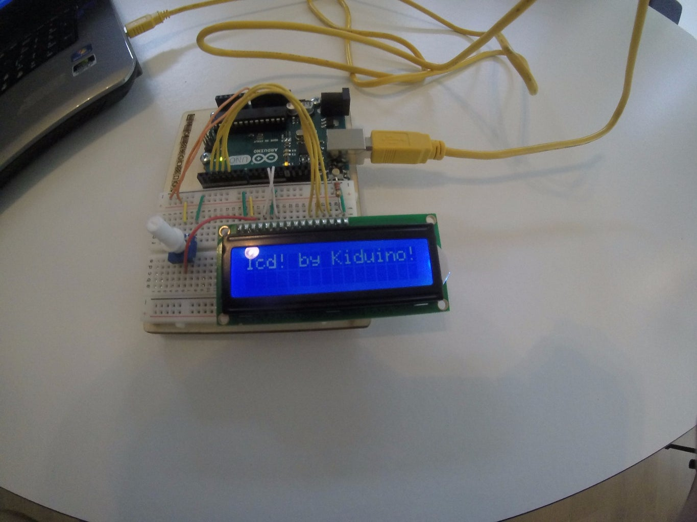 Control a LCD With Arduino