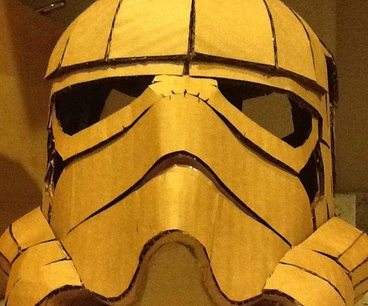 Cardboard Stormtrooper Helmet