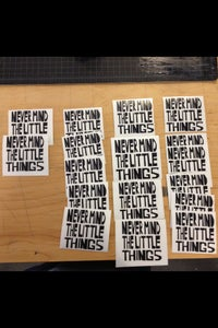 5 Minutes Per Decal 15 Count Production Run in Black