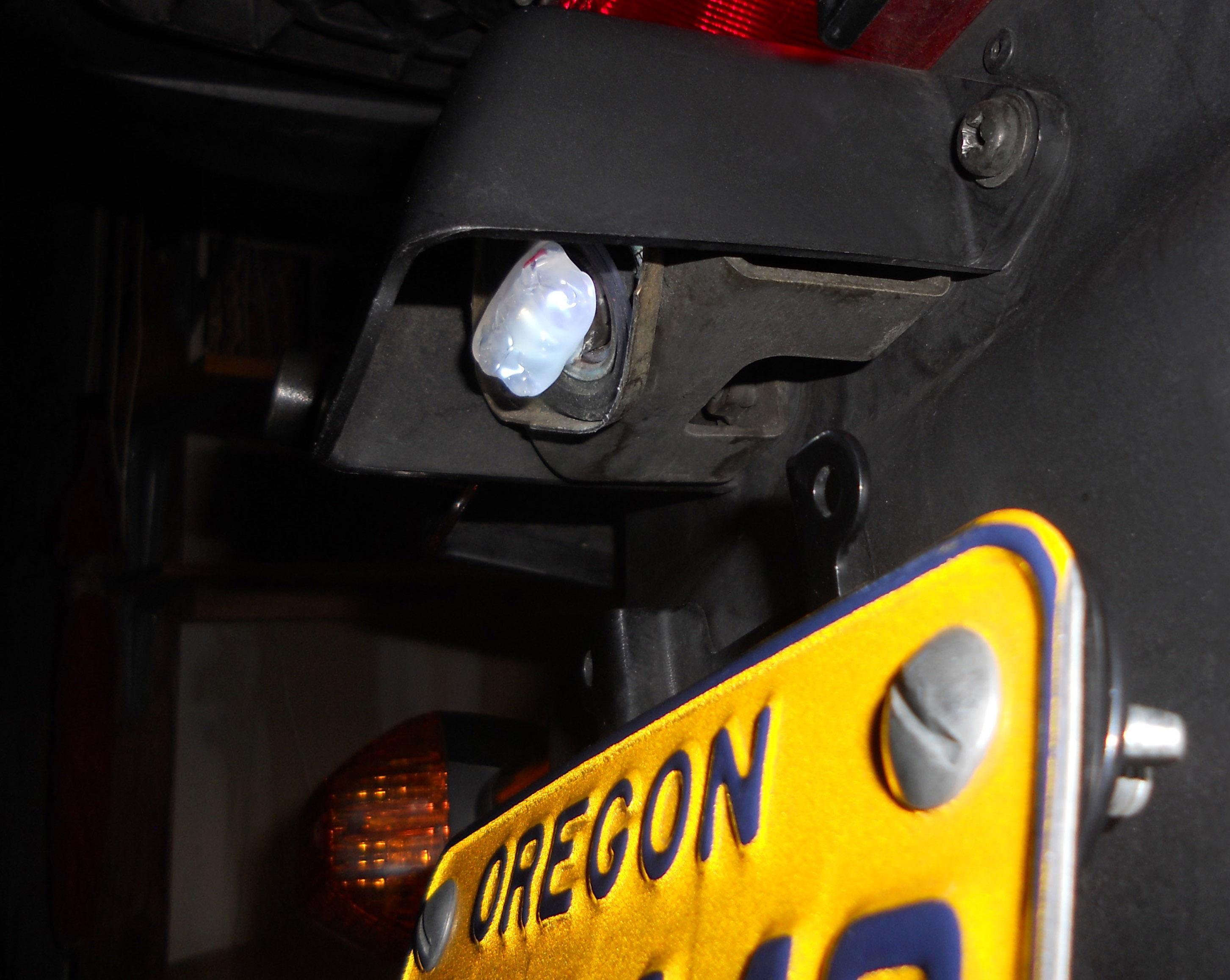 Motorcycle/Automotive Bulb LED Hack