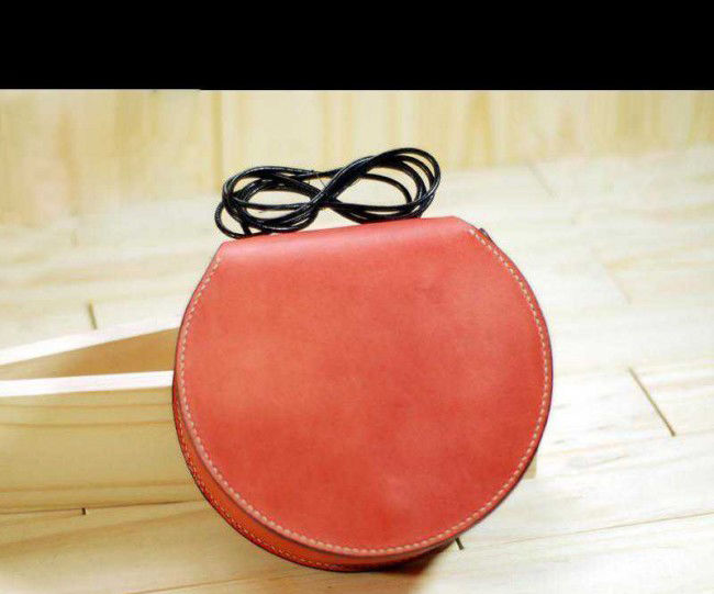Leather Shell Sling Bag