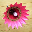 Adjustable Cardboard Lampshade (Phoenix)