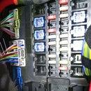 Jaguar XF Dashcam Ignition Connection