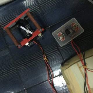 Mini DIY R.O.V. Submersible