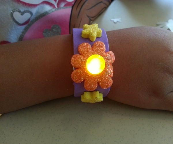 LED Foam Bracelet