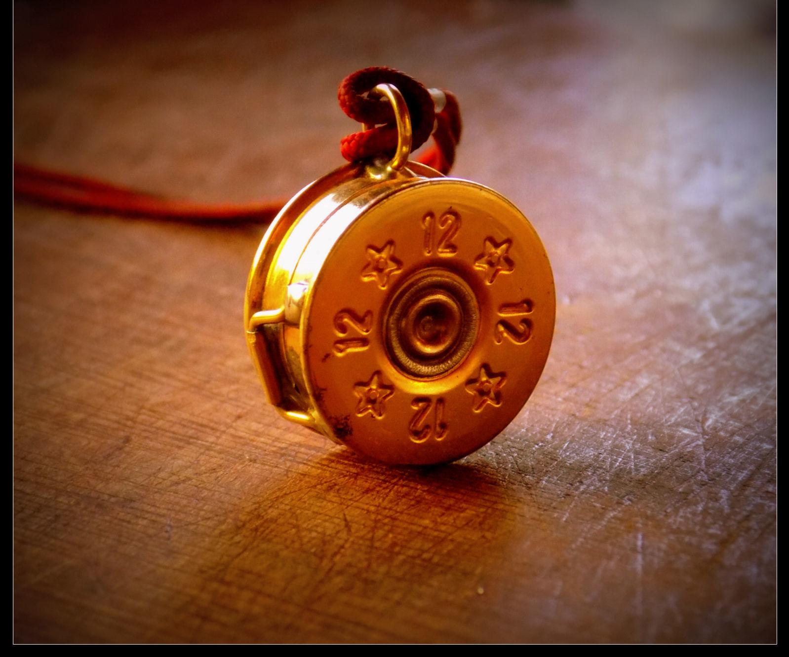Shotgun Shell Pendant Keepsake