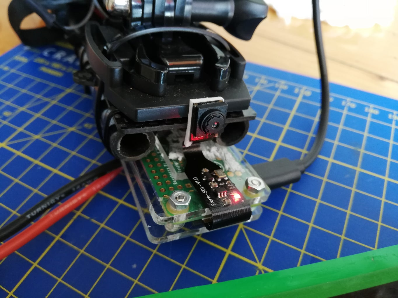 Installing the RPi Zero W on the Drone