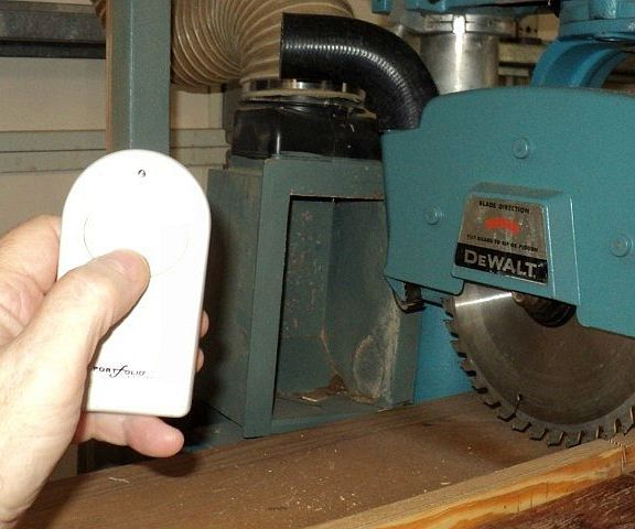 Dust Collection With A Ceiling Fan Remote