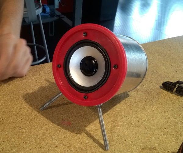 Bocina De Lata/ Recycled Speaker Can