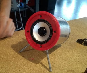 Bocina De Lata/ Recycled Speaker Can
