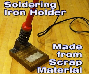 Valve Spring Soldering Iron Holder