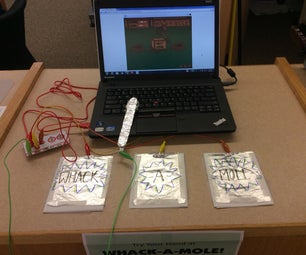 Whack-a-mole Game With Makey Makey/Scratch Programming