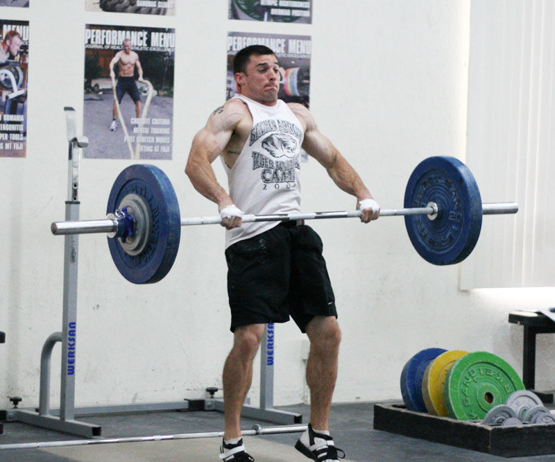 how to powerclean