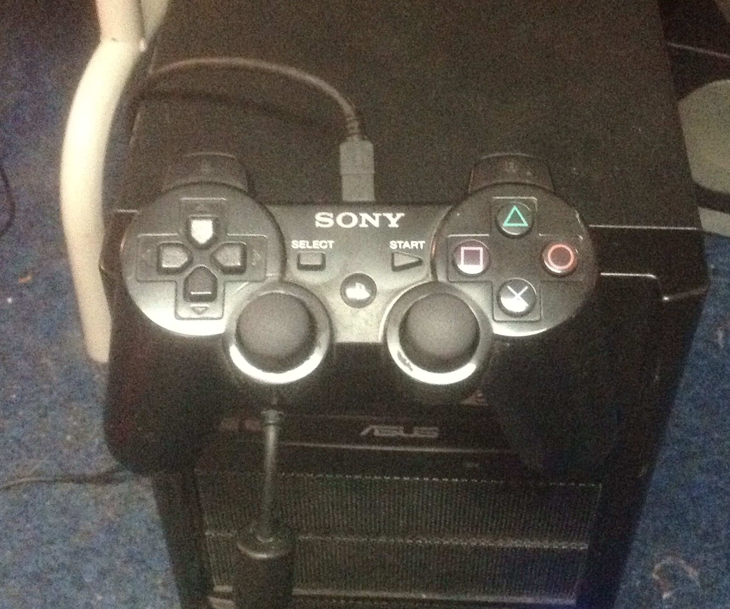 Using a Playstation controller with Windows