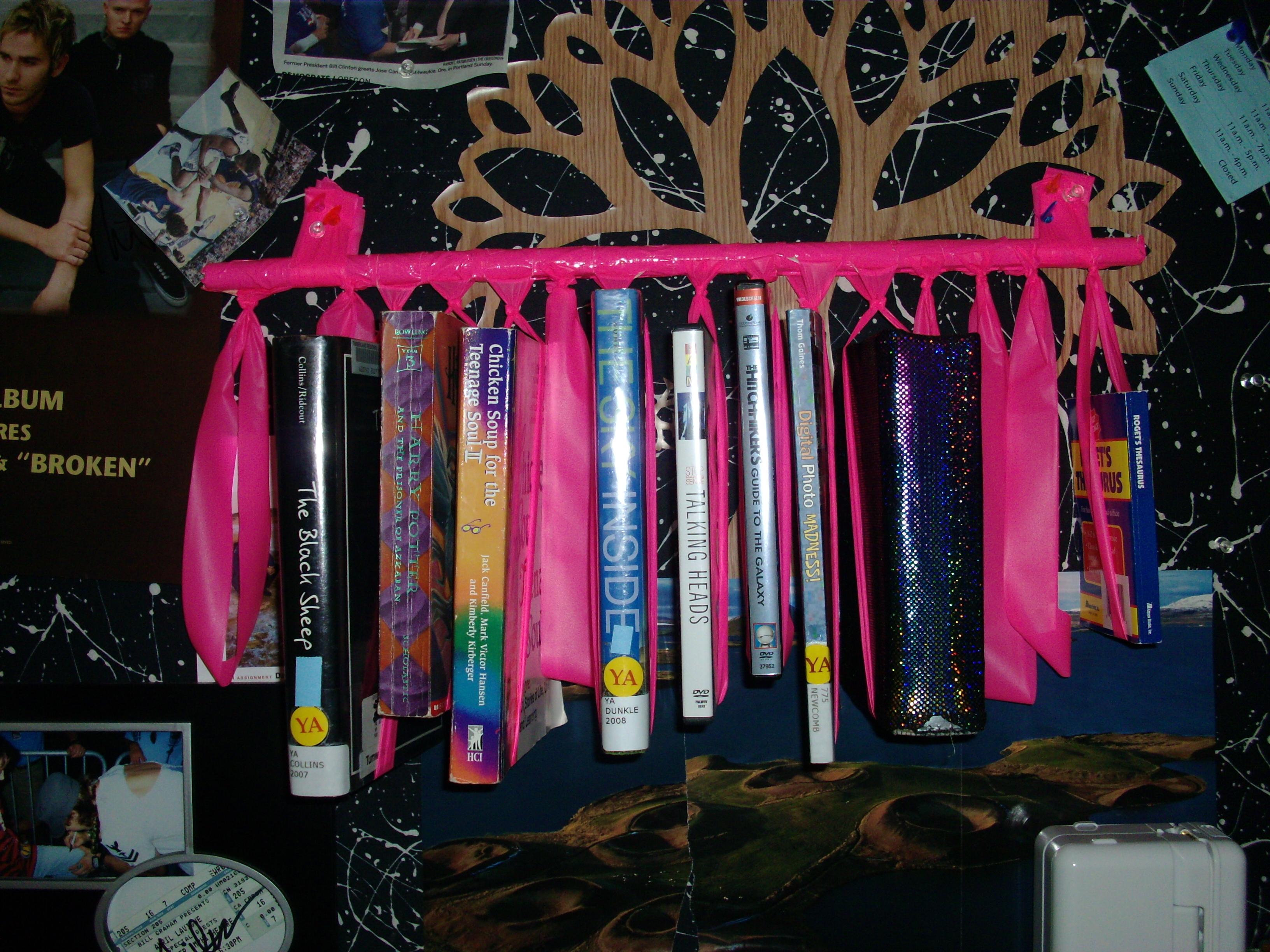 """Smashed Mutant Octopus book """"shelf"""""""