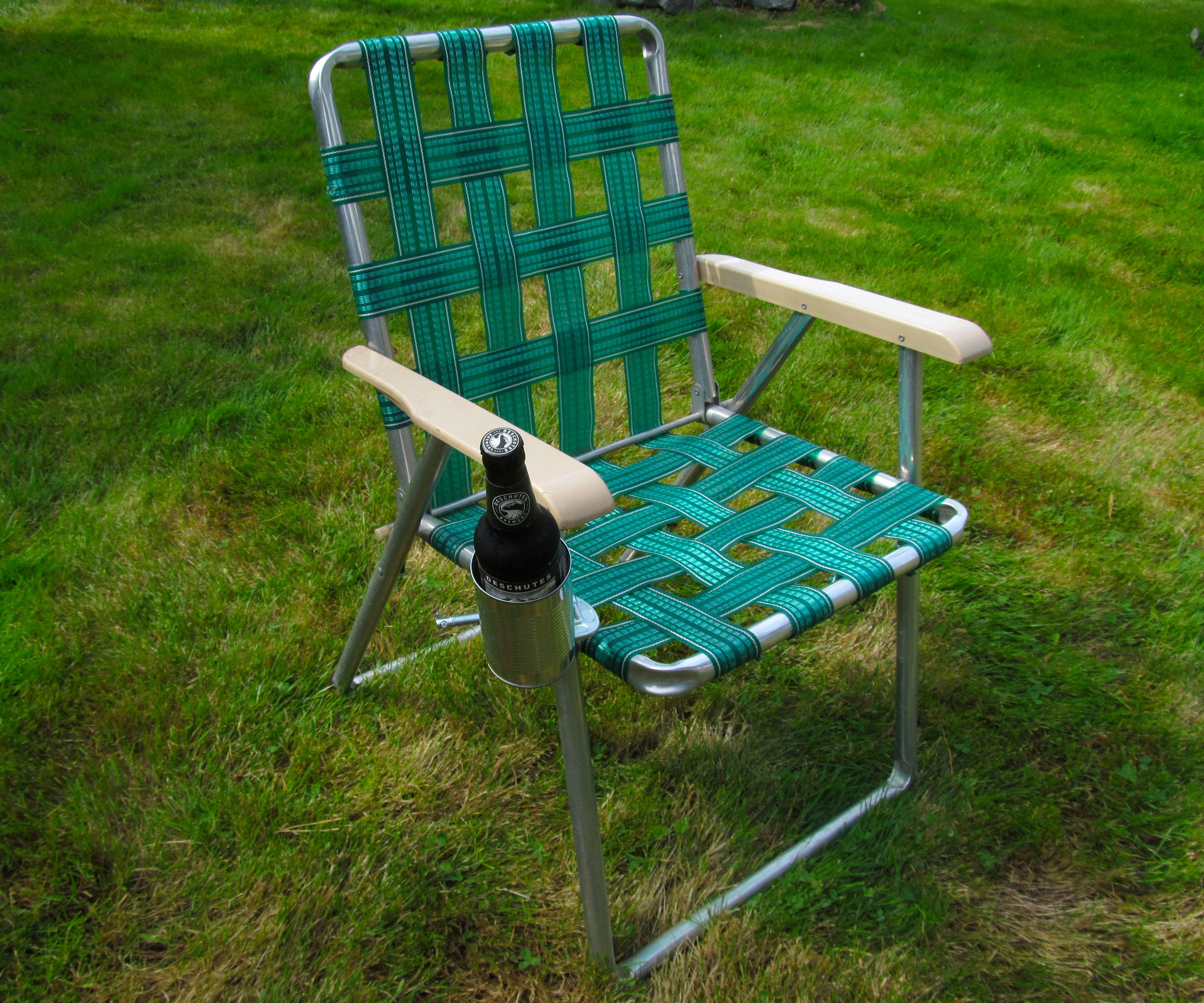 A (Removable) Cup Holder for Any Chair