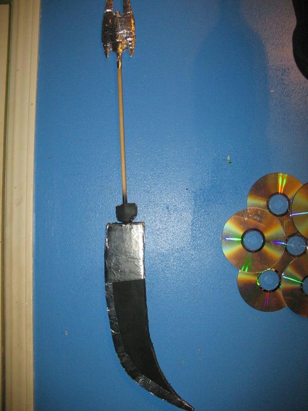 DIY Cardboard Weapons!