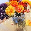 FALL DECOR INSPIRATION & DIY'S |DINING ROOM|