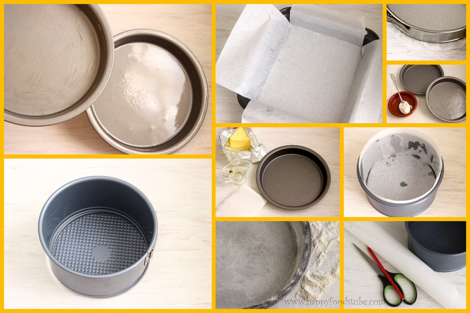 How to Prepare Cake Tins/Cake Pans