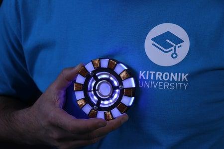 Micro:bit Powered Ironman Arc Reactor