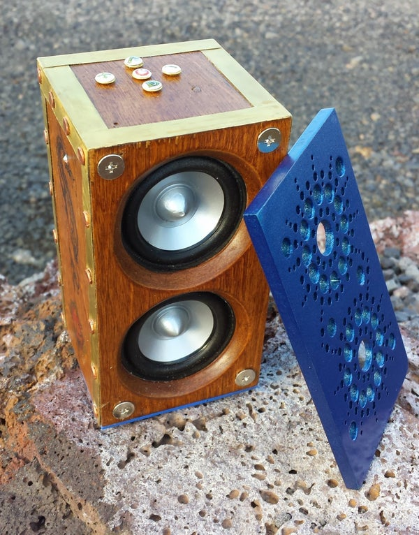 Steampunk Bluetooth Speakers