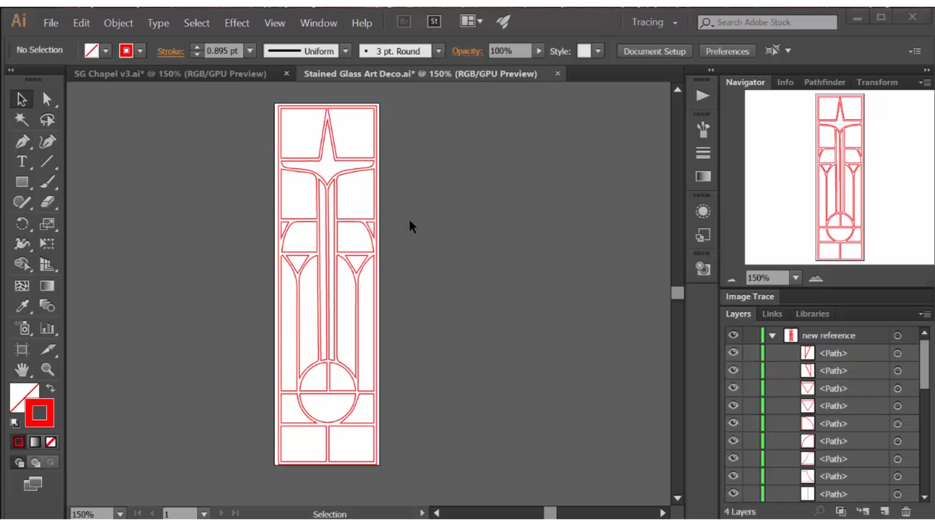 Design the Windows in Adobe Illustrator