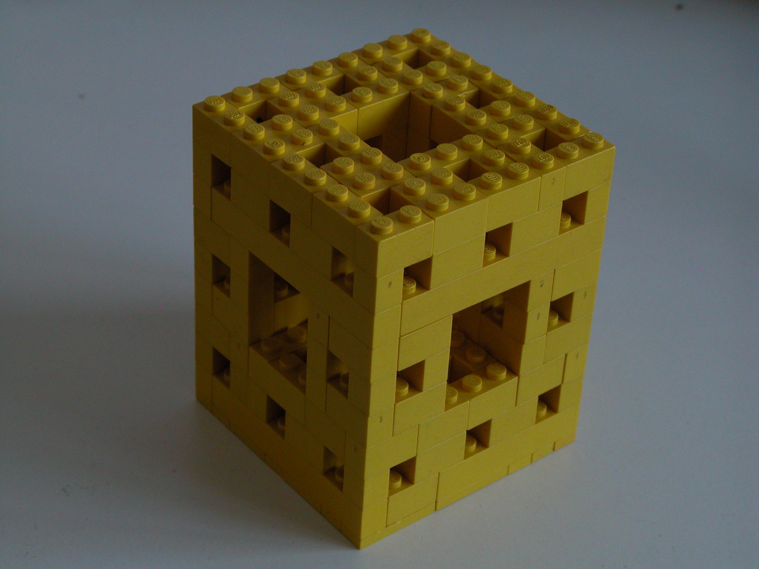 Lego Menger Sponge
