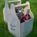 Carrier for IKEA Korken bottle
