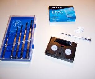 Salvage a Broken Mini DV Tape