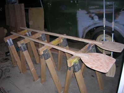Oars.  Make Them Yourself.  [And Do Not Shop at Outdoor World]