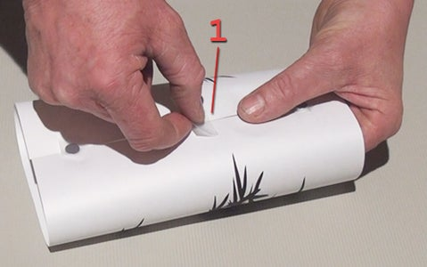 Taping the Paper