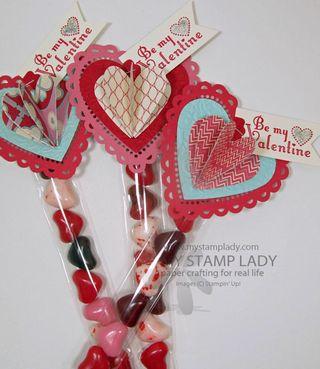 DIY Valentine Treat Favor
