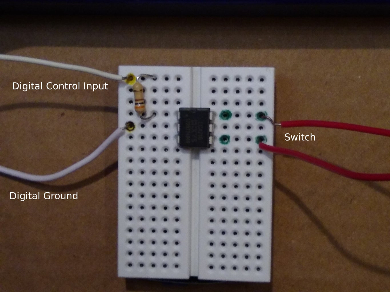 Attach the LCA710 Switch to the Knex Motor and Circuit Playground