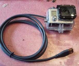 Gopro Waterproof Power Adapter