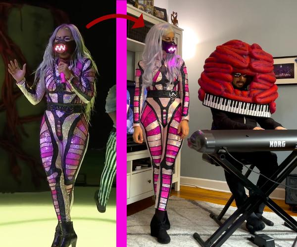 Lady Gaga Cosplay-2020 VMA万圣节服装
