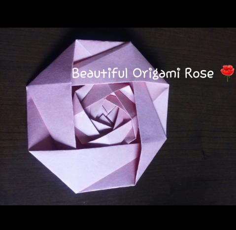 Advanced Origami Rose