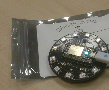 Protype for a Bat Detector Using SparkCore and Internet Button